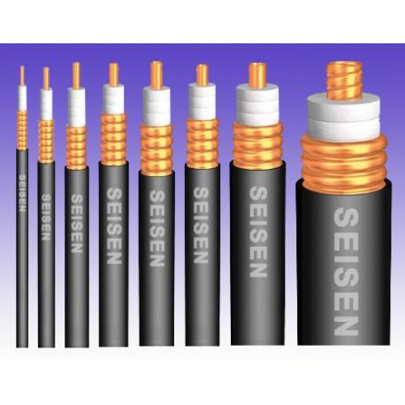 "Coaxial cable 7/8"" copper superflexible"